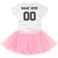 Custom Football Tutu Onesie