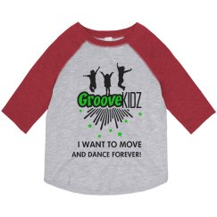 I Want to Move and Dance Forever 3/4 shirt