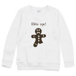 Bite me youth hoodie