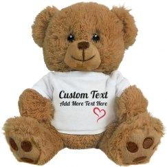 Cute Custom Teddy Bear Gift