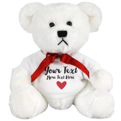 Romantic Custom Teddy Bear Gift