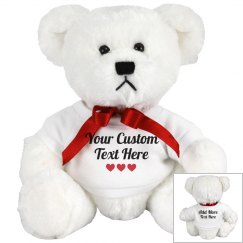 Custom Text Gift Bear
