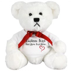 Custom Message Bear