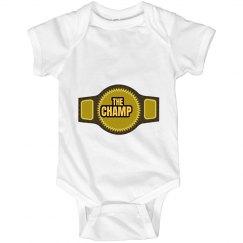 The Champ Infant Onesie