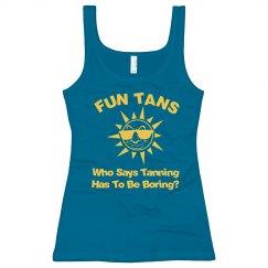 Tanning Salon Tank