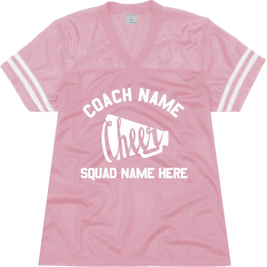 meet adf7d 0e325 Personalized Cheer Coach Gear
