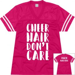 Funny Cheer Coach Practice Jersey