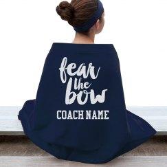 Fear The Bow Custom Coach Fall Gift