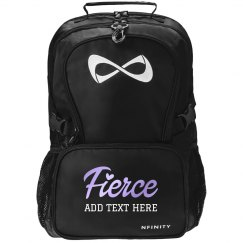 Custom Fierce Backpack with Your Own Personalized Text