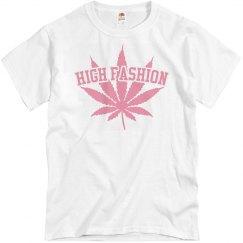 HF tee pink