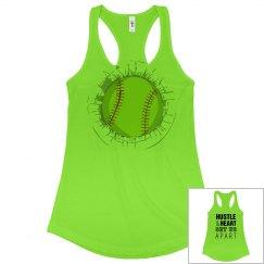Softball Team Hustle