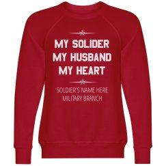 Custom My Soldier My Heart