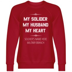 Custom My Soldier My Heart
