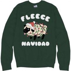 Fleece Navidad Xmas Ugly Sweater