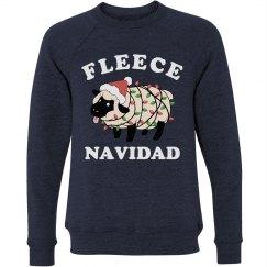 Fleece Navidad Ugly Christmas