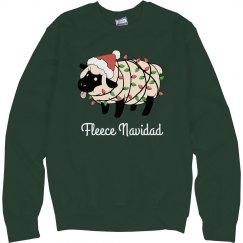 Fleece Navidad Funny Xmas Sweater