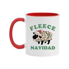 Fleece Navidad Secret Santa Mug