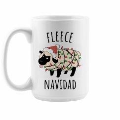 Fleece Navidad Cute Christmas Mug