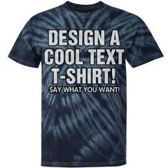 Design a Tie Dye Tee