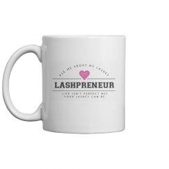 Lashpreneur Varsity Mug