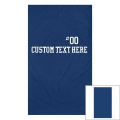 Custom Gaiter School Mascot & Number