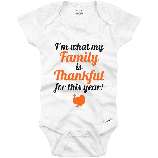 0058c20b8 Baby First Thanksgiving Infant Onesie