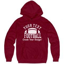 Custom Football Fan Sports Apparel