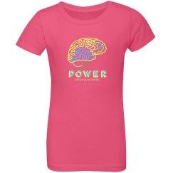 GIRLS: Brain Power Blue
