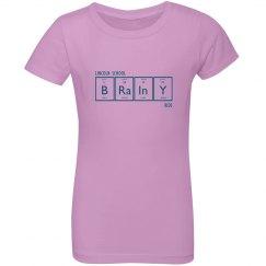 GIRLS: Brainy Periodic Tee