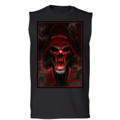 Ink'd Roses Red Skull
