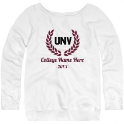 Custom College Initials Sweater