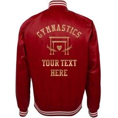 Custom Text Gymnastics Team/School