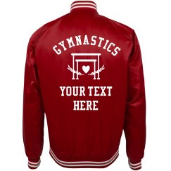 Custom Text Gymnastics Team/School