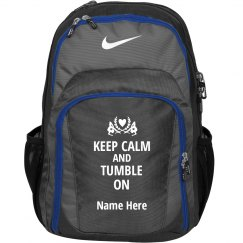 Keep Calm Gymnastics Workout Bag