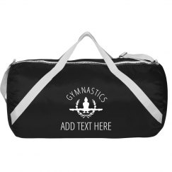 Gymnastics Custom Text Gear Bag