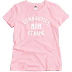 Gymnastics Mom Of Custom Name