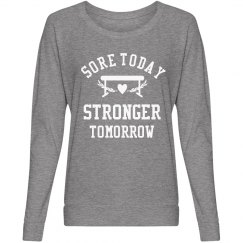 Sore Today Strong Tomorrow Gymnast