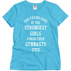 The Strongest Girls Are Gymnasts