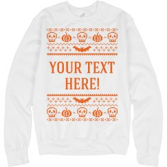 Custom Ugly Halloween Sweater