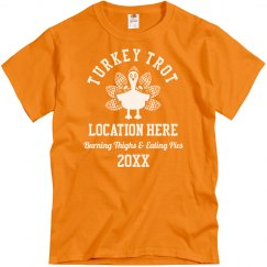 Custom Turkey Trot Group Shirts
