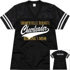 "Cheerleading Jersey ""MOM"""