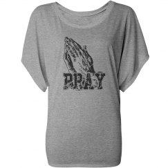 Pray Draped Sleeve Dolman
