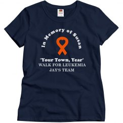 Leukemia Walk Tee