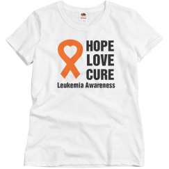 Hope Love Cure Leukemia