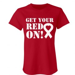 Red On For Heart Disease