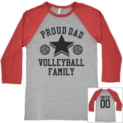 Proud Volleyball Family