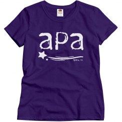 Ladies APA t-shirt