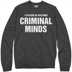 Watching criminal minds