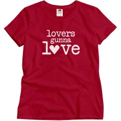 Red Lovers Gunna Love Tee