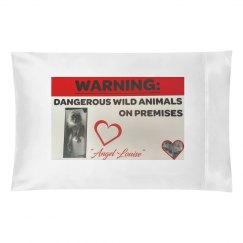 Dangerous Wild Animal Pillow Case